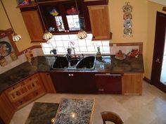 DISNEY Inspired KITCHEN   ... Disney art!, Disney inspired kitchen. Lots of color defined with black
