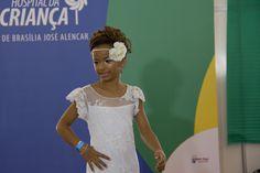Geovanna Ribeiro mostrou que tem talento para o mundo da moda. A menina também foi sorteada para ganhar um book fotográfico profissional.