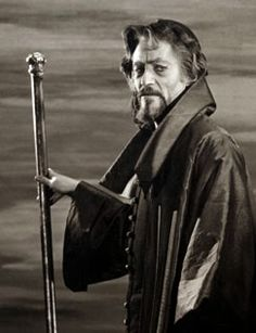 Peter O'Toole as Shylock in Merchant of Venice.