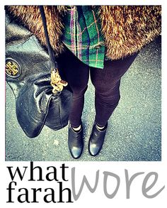 Rustic Chic: What Farah Wore 1.20.15