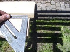 Cheap, Easy, Low-waste Platform Bed Plans : 7 Steps (with Pictures) - Instructables Platform Bed Plans, Queen Size Platform Bed, Diy Platform Bed, Bed Frame Plans, Diy Bed Frame, Bed Frames, Garden Bench Plans, Tall Bed, Diy Pallet Bed