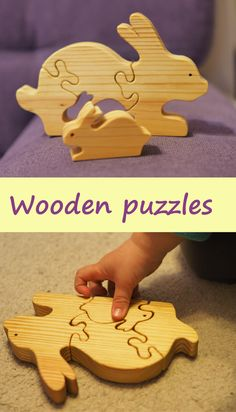 wooden puzzle rabbit, wood hare, jigsaw puzzle, animal puzzle, Montessori toy, wooden toys, Easter bunny, handmade toy, wood animals, eco educational toy for kids, Waldorf, Montessori, motor skills. YourWoodenMaster on Etsy teampinterest baby toys, #woodenpuzzle, #woodtoys, #ecotoys, #animalpuzzle, kids toys, #kidstoys, #yourWoodenMaster, wooden puzzles for kids