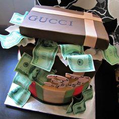 Gucci Birthday Cake!  All edible!