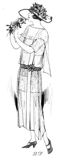 dama de principios de siglo XX