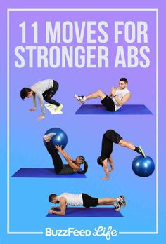 11 Exercises That Will Make Your Abs Cry