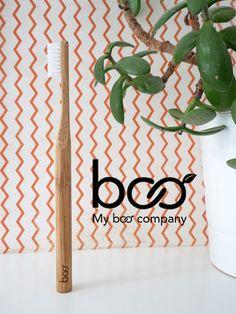 Brosse à dent en bambou écologique, recyclable -my boo company