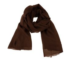 Brown cashmere scarf. Pure pashmina scarf.   100% natural. November sale by MyKolachi on Etsy