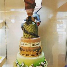 games of thrones dragon cake - Google Search                                                                                                                                                                                 Más
