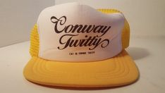 Conway Twitty Country Music Concert Mesh Trucker Snapback Cap Hat Rockabilly #Cap