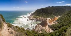 If you have even a passing interest in hiking, make sure you do the Otter Trail along South Africa's Tsitsikamma coastline. End Of Days, Otters, Hiking Trails, Africa, Activities, Outdoor, Outdoors, Otter, Outdoor Games