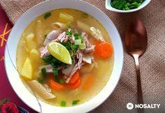 Expressz húsleves megfázásra   NOSALTY Penne, Thai Red Curry, Ramen, Food And Drink, Soup, Ethnic Recipes, Soups, Pens