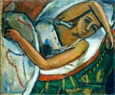 Béla Czóbel was a Hungarian painter. Contemporary History, Modern Art, National Art Museum, Figurative Kunst, Most Famous Artists, 1920s Art, Post Impressionism, Art Database, Hanging Art