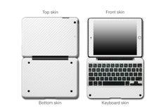 White Carbon Fiber #ClamCasePro #Pro #iPad #iPadMini #Apple #Tablet #Tablets #Computers #Keyboard #Gadget #Gadgets #Electronics #Electronic #Shield #Shields #Protector #Protectors #Decals #Skin #Skins #Wrap #Wraps #Vinyl #3M #CarbonFiber #Fibre #Red #Blue #Black #Graphite #VinylWraps #Chrome #CarbonFiber #Rvinyl  25% Off All Chrome Use code CHROME =============================== http://www.rvinyl.com/Chrome-Vinyl-Film-Wraps.htm