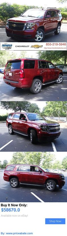 SUVs: Chevrolet: Tahoe 2Wd 4Dr Lt 2 Wd 4 Dr Lt New Suv Automatic Siren Red Tintcoat BUY IT NOW ONLY: $58670.0 #priceabateSUVs OR #priceabate