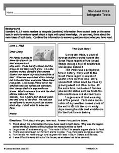 COMMON CORE (Grade 5) INTEGRATE TEXTS