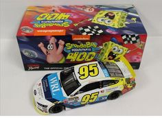 Action Racing Nascar 2015 Michael McDowell SpongeBob Squarepants NEU in… Michael Mcdowell, Spongebob Squarepants, Nascar, Diecast, Racing, Ebay, Action, Sport Cars, Group Action