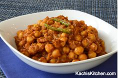 Chickpea Masala is an authentic vegetarian Indian recipe that is easy to make and absolutely delicious. Cooks in no time and is very healthy.