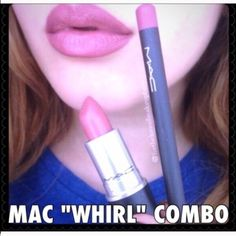 Mac lipstick and lipliner bundle Brand new in the box Mac whirl lipstick and whirl lipliner. Guaranteed authentic MAC Cosmetics Makeup Lipstick