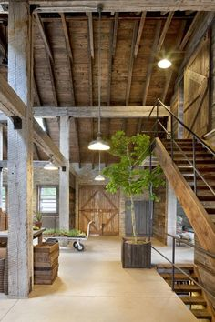 Best Ideas For Modern House Design & Architecture : – Picture : – Description Modern Home Design by the Urbanist Lab Sweet Home, Barn Renovation, Converted Barn, Barn Living, Country Living, Living Rooms, Living Area, Rustic Interiors, Barn House Interiors
