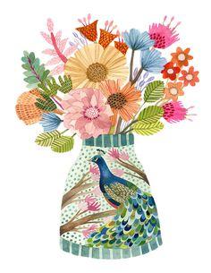 Windham Fabrics, Artist Art, Art Education, Surface Design, Watercolor Art, Illustrators, Illustration Art, Floral, Watercolours