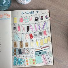 15 Ways to Catalog Washi Tape in your Bullet Journal — Sweet PlanIt