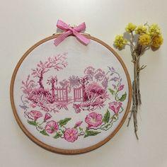 Rosée du matin - Véronique Enginger  *Cilek Tarlasi cross stitch*