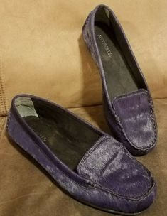 2a4400743 Aerosoles Nu Day Women s Purple Flat Shoe - Size 11M  fashion  clothing   shoes