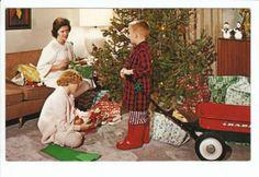 Radio Flyer Red Wagon Christmas Children Toys Old Postcard Vintage Ad Child Toy | eBay