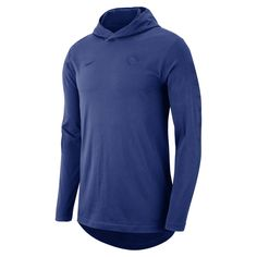 34846ec86 Philadelphia 76ers Nike Men s Hooded Long-Sleeve NBA T-Shirt