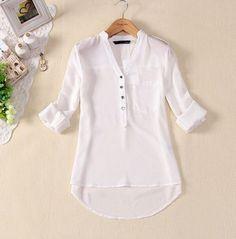 Camisa feminina chiffon - Produto 558527 | AIRU                                                                                                                                                     Mais