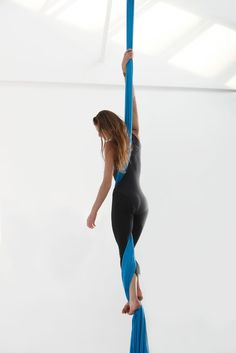Climbing High in Cleveland with Aerial Silks