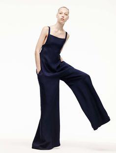 Adam Lippes Frühjahr/Sommer 2016 Ready-to-Wear - Fashion Shows High Fashion, Fashion Show, Fashion Design, Fashion Spring, London Fashion, Fashion Women, Women's Fashion, Fashion Trends, Moda Afro