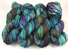Oscar Worsted Hand Dyed Yarn worsted weight superwash