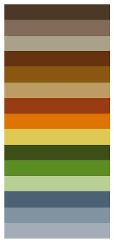 Colores c lidos los m s acogedores ocres y rojos con - Gama de colores para interiores ...