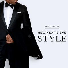Choosing Best Tuxedo New Year's Eve: http://www.blacklapel.com/thecompass/choosing-best-tuxedo-new-years-eve/?utm_campaign=12-19-2014-compass-choosing_the_best_tuxedo_for_new_years_eve&utm_medium=social&utm_source=pinterest&utm_content=12-19-2014-new_years_eve_style&utm_term=