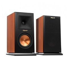 Get Klipsch Bookshelf Speaker - Ebony (Pair) by best price! Fast shipping for your Klipsch Bookshelf Speaker - Ebony (Pair). High End Speakers, Home Audio Speakers, Monitor Speakers, Bookshelf Speakers, Hifi Audio, Wireless Speakers, Klipsch Speakers, Car Tracking Device, Gps Tracking