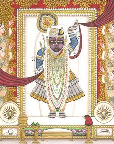 Shrinathji Krishna Pichwai Art