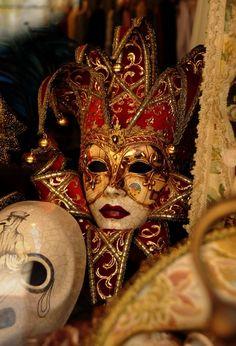 Venetian Carnival Masks | Baechler Gallery