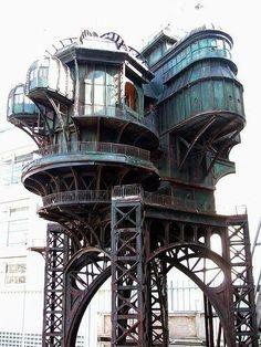 Jules Verne, Architecture Moderne, Beautiful Architecture, Interior Architecture, Victorian Architecture, Victorian Buildings, Spanish Architecture, Industrial Architecture, Interior Design