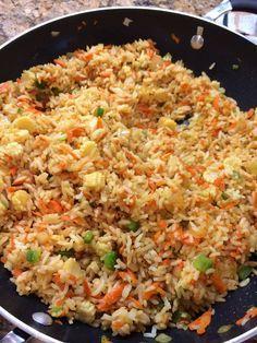 Arroz Chino :http://www.recetasjudias.com/arroz-chino/