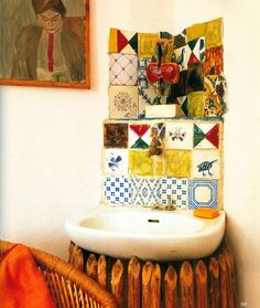 home of french ceramic artist marguerite 'guidette' carbonell (1910-2008) World of Interiors Oct 07 - Google Search