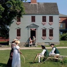 The Strawbery Banke Museum in New Hampshire.