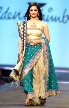 Rashami Desai Sandhu at Shaina NC's fashion show held in aid of cancer patients. #Style #Bollywood #Fashion #Beauty