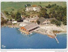 FOSSES LA VILLE - Vue aérienne Plage de Bambois - gelopen 1966 circulé
