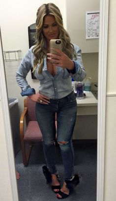 Kim Zolciak Boasts About Her Thigh Gap?See the Pic! | E! Online Mobile