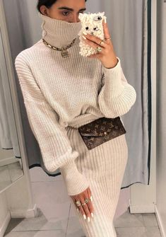 3863078f72 Pin by Lydia Yilma on fashionista me. in 2019 Pin by Lydia Yilma on  fashionista me. in 2019. Pilli Paulinio · White Sweater Dress
