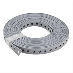 StabiloFIX Montagelochband 19 mm PVC beschichtet 10m Lochband Montageband  #sanitärbedarf #sanitär #sanitärzubehör #lochband #befestigung #rohre