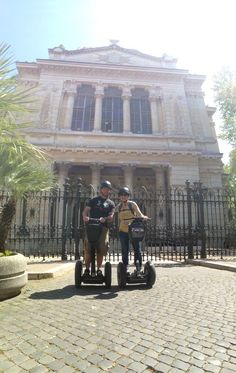 Witnessing Rome by segway is one of the most nicest way to explore the city.