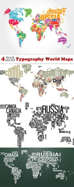 Free vector world map countries in word cloud free vector vectors typography world maps gumiabroncs Image collections