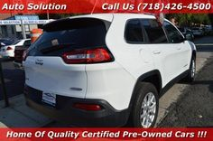 Used 2014 Jeep Cherokee Latitude for sale at Auto Solution in Woodside, NY for $13,380. View now on Cars.com.